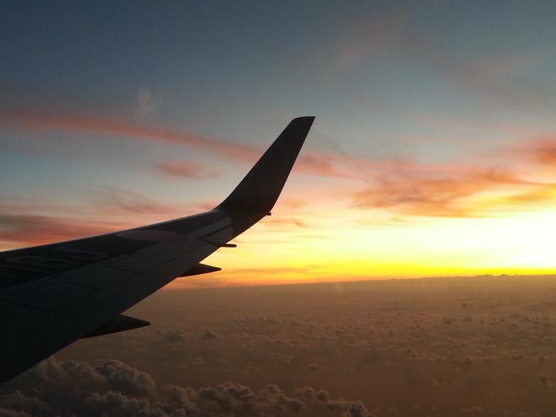 Sunset over Tokyo