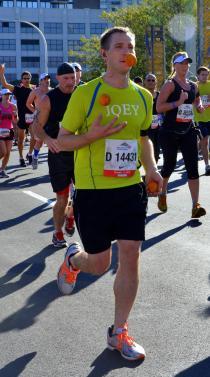 Juggling while running a marathon....no big deal!