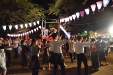Festival in the middle of Tokyo