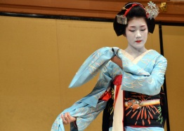 Maiko (apprentice Geisha) performance at Gion Corner in Kyoto