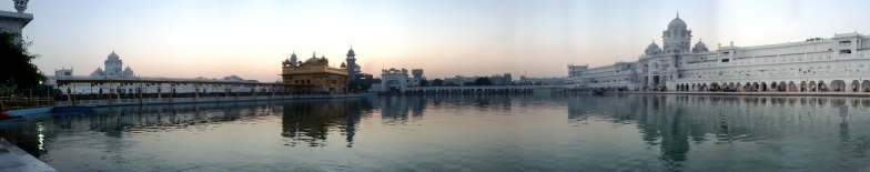 Panoramic view of Golden temple complex