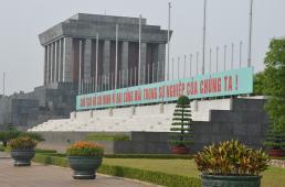 Ho Chin Minh Mausoleum