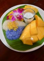 Mango sticky rice was beyond amazing