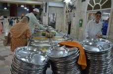 Langar (free food for all) at Gurdwara