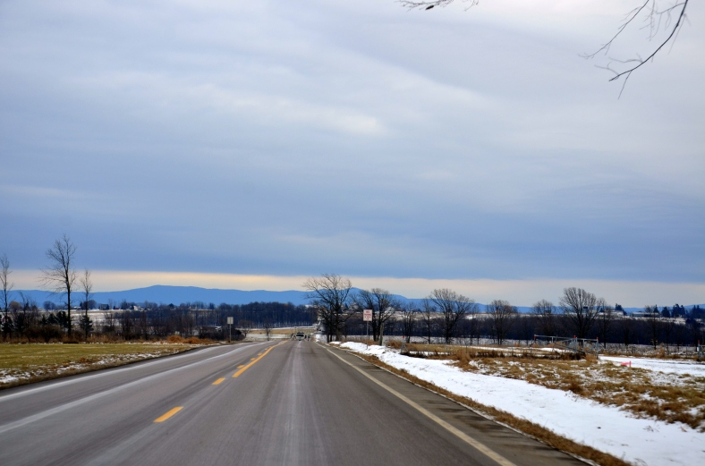 Vermont Mountains in sight